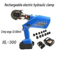 1 PC HL 300 Wiederaufladbare Hydraulische Zangen/18 V Elektrische Hydraulische Crimpen Werkzeuge/Batterie Powered Draht 60KN 50  60Hz-in Hydraulikwerkzeuge aus Werkzeug bei