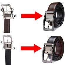 Reversible Genuine Leather Belt