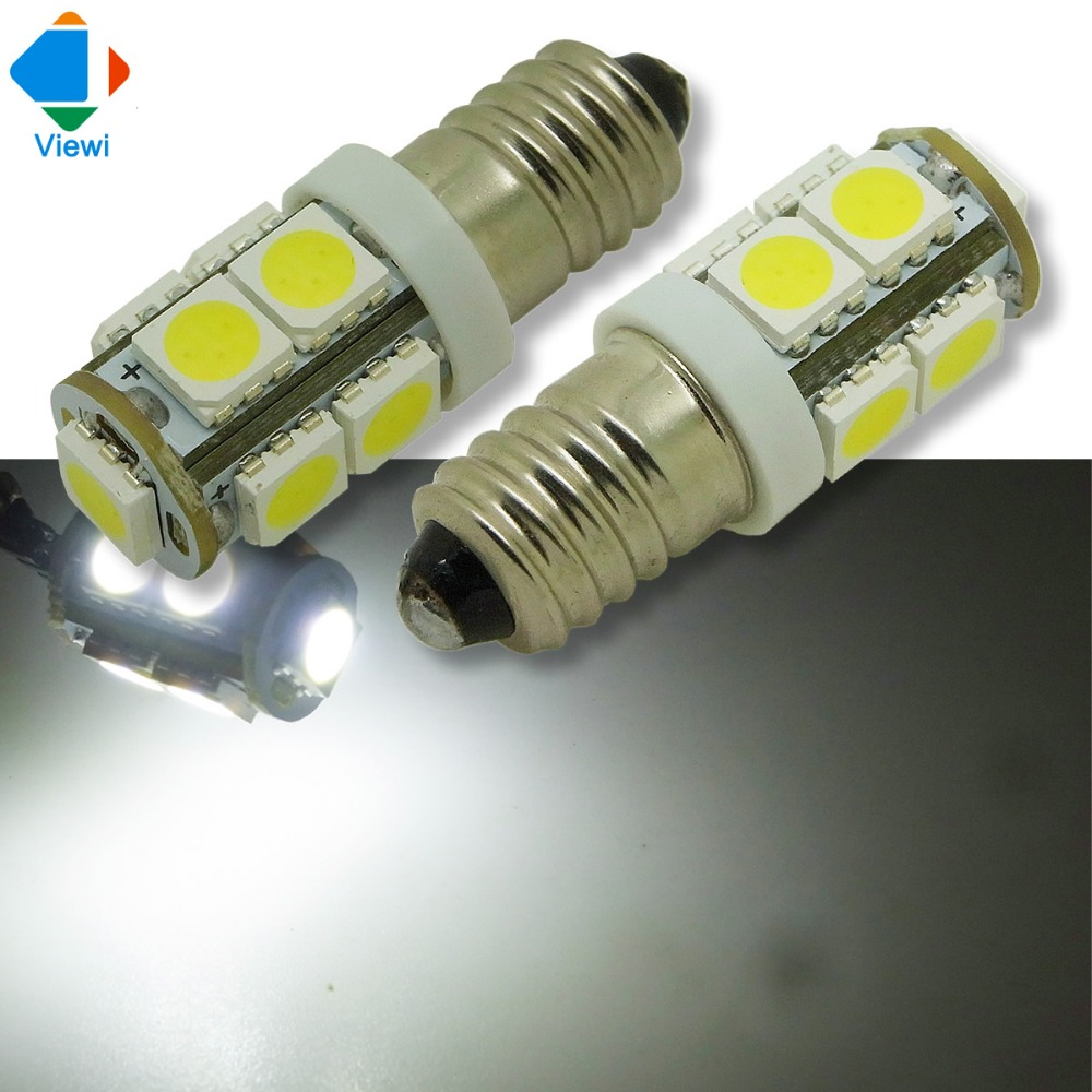 viewi 20x ampolletas led bulb e10 25w dc 12 volt car light smd5050 chip 9leds