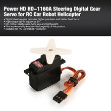 Power HD HD-1160A 3 kg Stuurkoppel Digitale Plastic Gear Mini Servo voor RC Auto Buggy Robot Helicopter Drone Spare onderdelen(China)