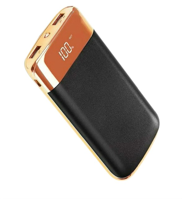 New Lcd Power Bank 30000mAh 2 USB PowerBank Powerbank Portable External Battery Mobile Phone Charger for Xiaomi MI for iphone8 X
