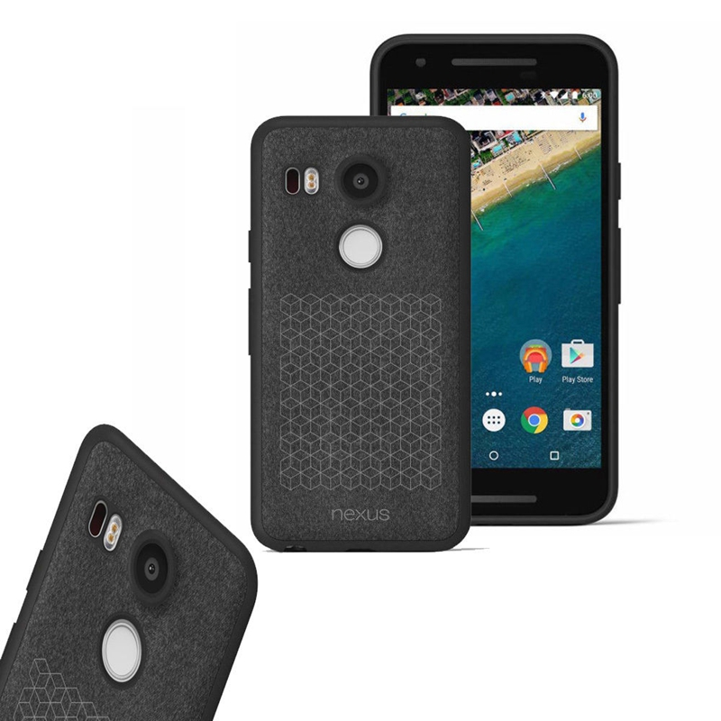 factory price ad37f f95ae US $10.96  Luxury Official Soft TPU flannel Cover Case For LG Nexus 5X /  For Huawei 6P Back Cover Case With Retail Package Shell Coque New on ...