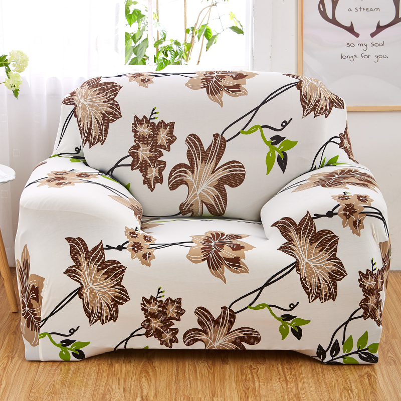 ROMORUS Floral Sofa Covers Tight All-inclusive Universal Stretch - Home Textile - Photo 2