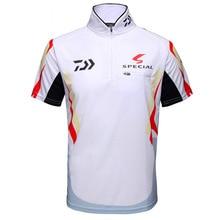 2018 Summer New Brand Fishing shirt Daiwa Sunscreen Short Sleeves Shirt Breathable Quick-dry Anti-UV Clothing