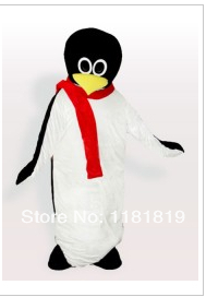 MASCOT Baby Penguin with Red Scarf mascot costume custom fancy costume anime cosplay mascotte fancy dress carnival costume