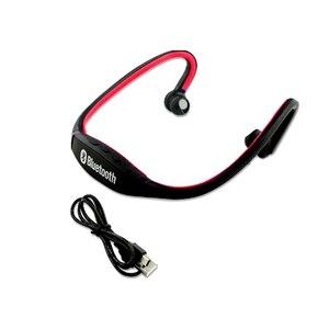 Image 4 - HOMEBARL BS19C Bluetooth 4,0 Sport Drahtlose Neck Kopfhörer Ohrhörer Headset + 8GB 16GB Micro SD Karte/FM radio/Mic PK ZK S9