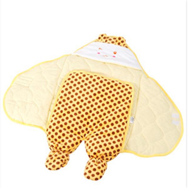 De Algodón suave Mantas de Bebé Recién Nacido Bebé Super Suave Envoltura Envoltura Para Recién Nacidos Mantas de Bebé de Algodón Caliente Del Invierno del Otoño 70X0099