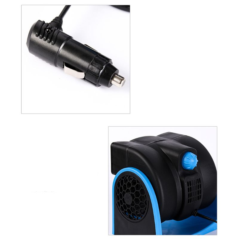 Image 4 - 12V Car Vehicle Truck Cooling Air Bladeless Fan Speed Adjustable Silent Cooler System-in Heating & Fans from Automobiles & Motorcycles