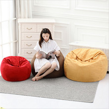 Removable Washable Lazy Bean Bag Computer Chair Living Room Furniture Leisure Beanbag Seat Room Furniture Corner Sofa
