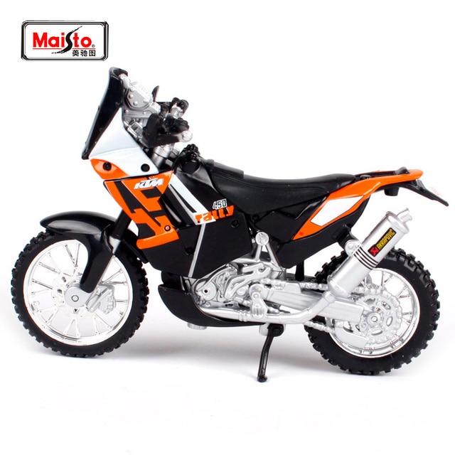 Maisto 1 18 Ktm 450 Rally Motorcycle Bike Diecast Model Toy New In
