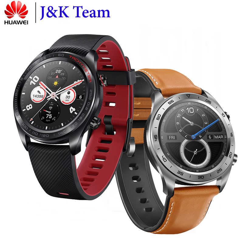 Huawei Honor Watch Magic Smart Watch NFC GPS 5ATM WaterProof Heart Rate Tracker Sleep Tracker Working 7 Days Message Reminder