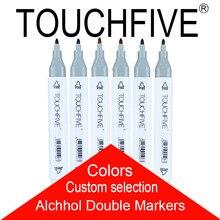 1 шт. пользовательский выбор рисунок маркер для белой доски анимации набор маркеров для эскизов для художник манга cohol основе маркер щетка для домашних животных
