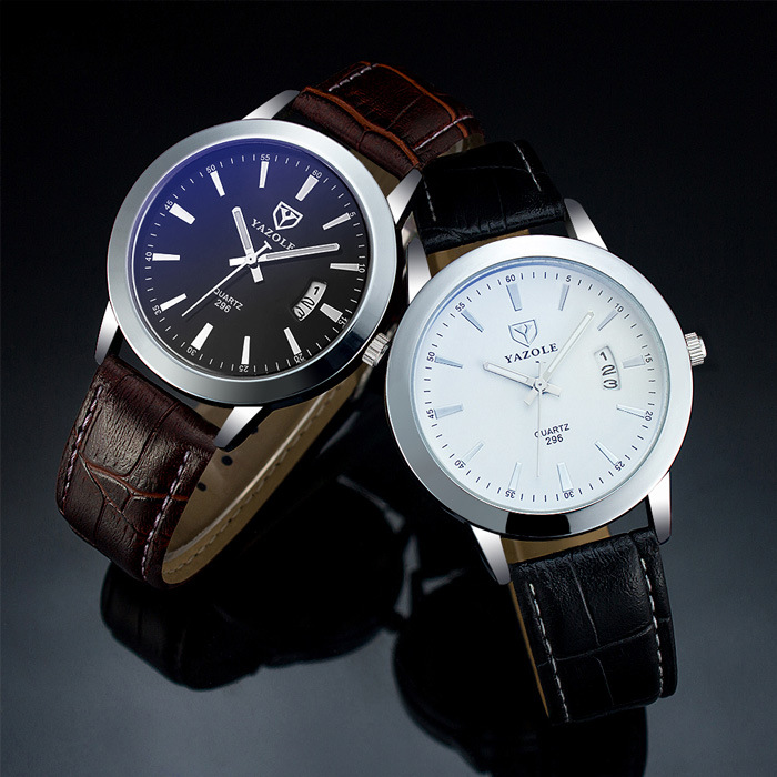 Dropshipping Relojes Hombre Top New Luxury Brand Watches Men Dress Leather Band Clock Auto Date Waterproof Quartz Wrist watch sinobi original vogue new design wrist watches for men dress office waterproof men watch travel factory directly sale relojes