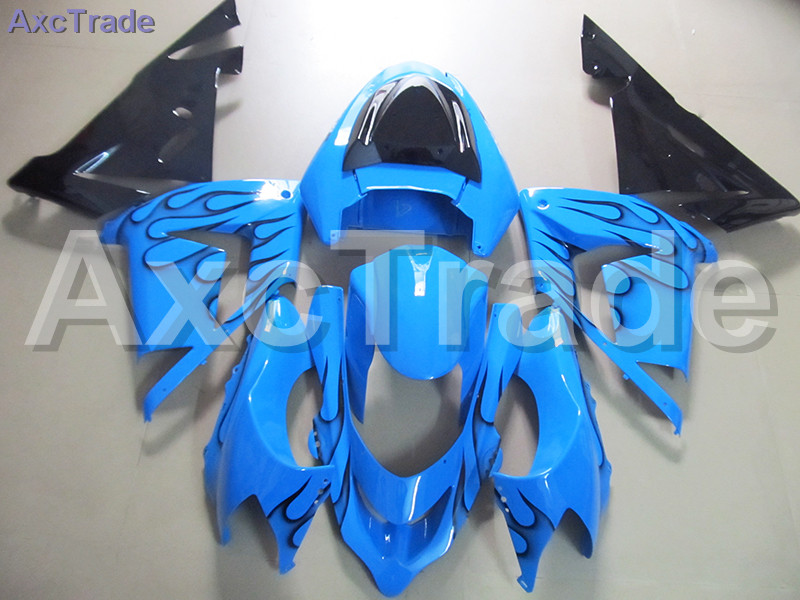 High Quality ABS Plastic For Kawasaki Ninja ZX10R ZX-10R 2004 2005 04 05 Moto Custom Made Motorcycle Fairing Kit Bodywork C468