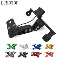CNC Motorcycle License Plate Frame Holder Bracket & LED For honda CBR 600 F2,F3,F4,F4i CBR600RR CBR600 CBR750 RR Accessories