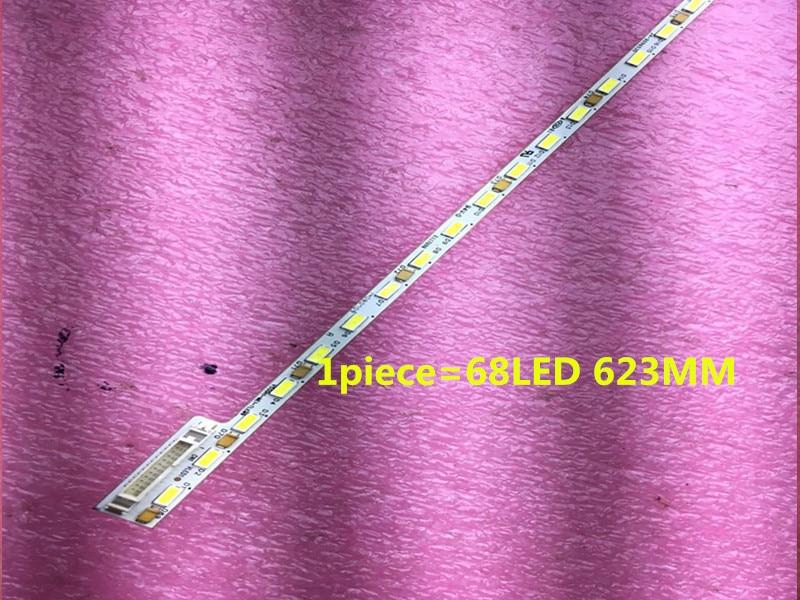 2 Stück FÜr Haier Le50a5000 50du6000 50 Zoll Lampe Streifen Artikel Lampe V500h1-me1-tlem9 Bildschirm V500hj1-me1 1 Stück = 68led 623mm