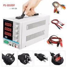 جديد LW PS 3010DF مختبر تيار مستمر امدادات الطاقة 30V10A عالية precision4 digit LED عرض USB شحن إصلاح تحويل التيار الكهربائي