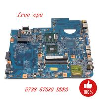 NOKOTION For Acer ASPIRE 5738 5738G laptop motherboard 48.4CG01.011 MBP5601005 MB.P5601.005 DDR3 Only free cpu