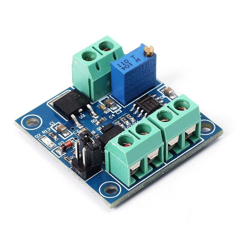 PWM to Voltage Converter Module 0%-100% to 0-10V for PLC MCU Digital to Analog Signal PWM Adjustabl Converter Power Module