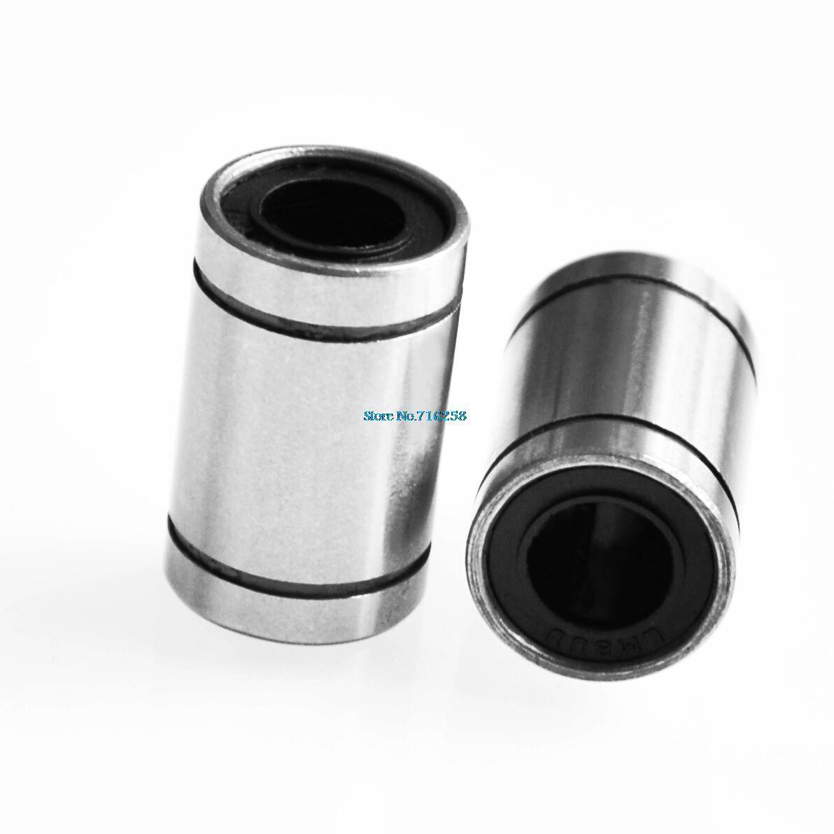 1PC LM8UU 8mm Shaft CNC Linear Bearing Ball Bushing 8x15x24mm For 3D Printer New