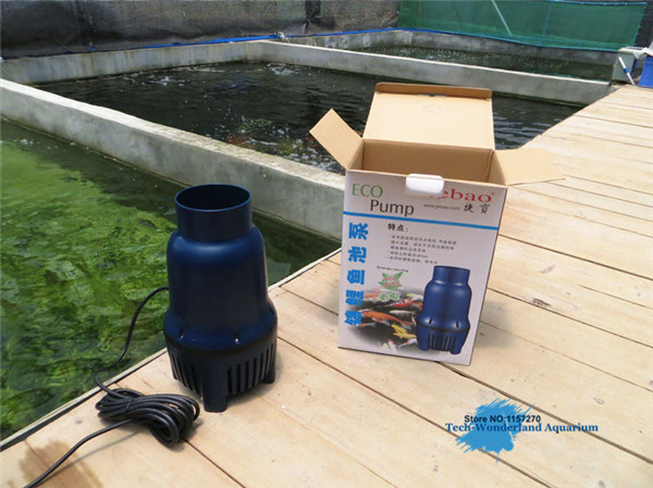 Koi pond pump large flow submersible pump for aquarium eco for Koi fish pond water pump