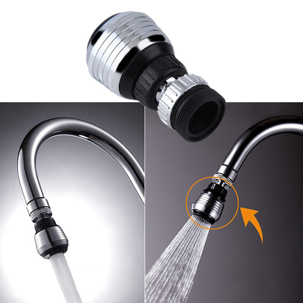 Kitchen Faucet Shower Head Economizer Pressurization Filter Water Stream Faucet Pull out Bathroom Tap Bubbler Splash Water