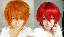 Tokyo Ghoul Cosplay Wig Short Straight Heat Resistant Synthetic Hair Wigs