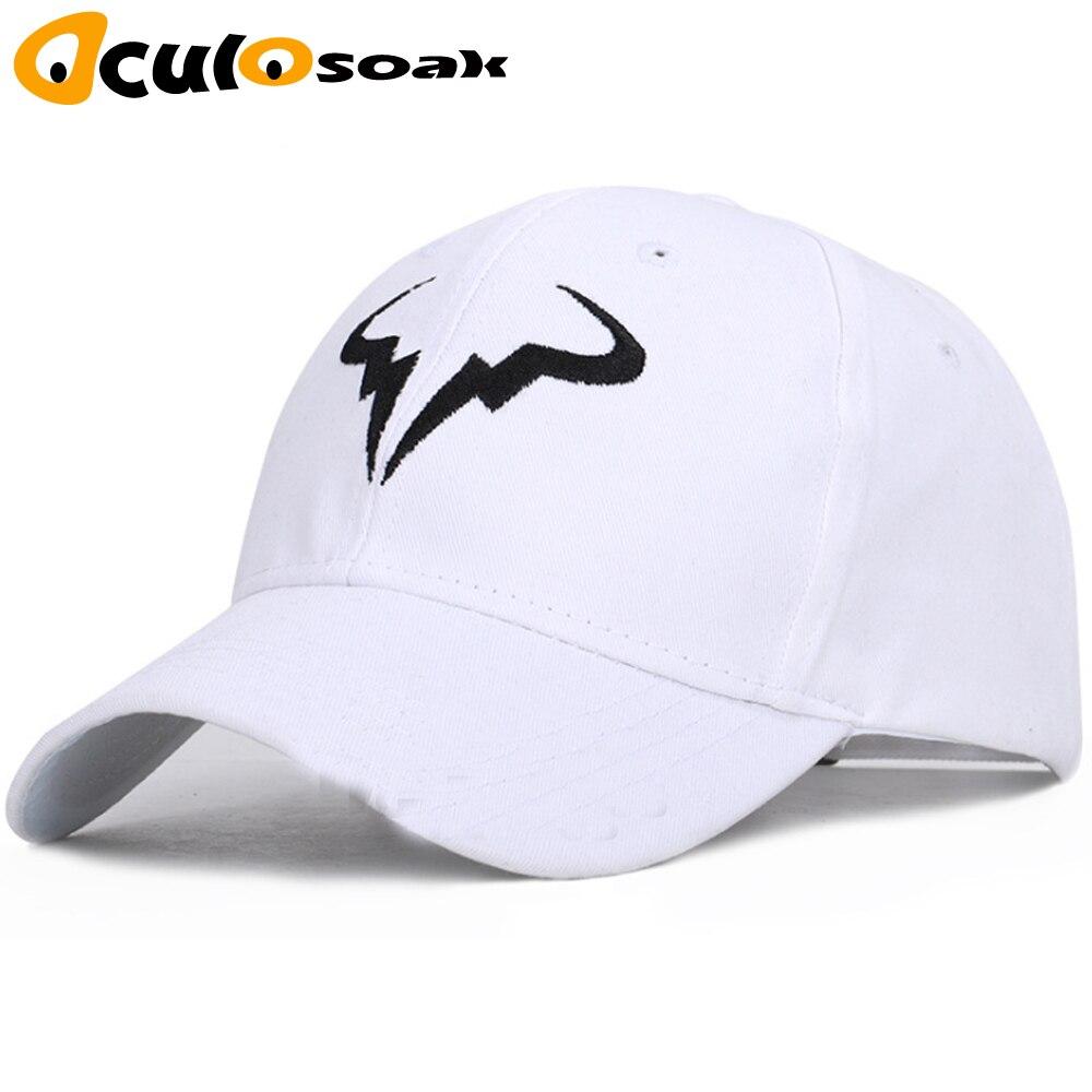 Rafael Nadal Baseball Cap New 100% Cotton Tennis Player No Structure Dad Hat Men Women Snapback Caps Bone Embroidery Nadal Hats