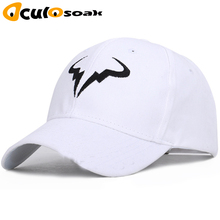 Rafael Nadal Baseball Cap New 100% Cotton Tennis Player No Structure Dad Hat Men Women Snapback Caps bone Embroidery Hats