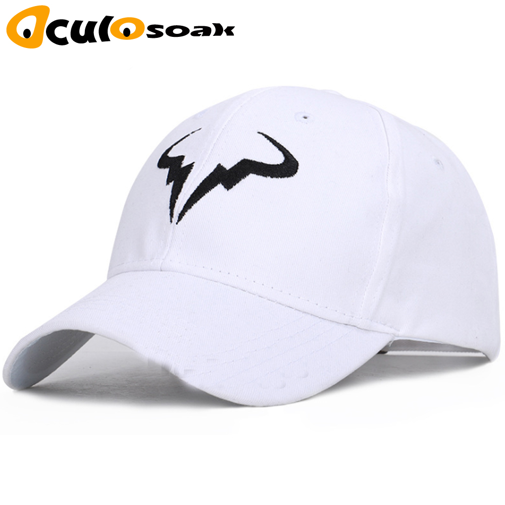Rafael Nadal   Baseball     Cap   New 100% Cotton Tennis Player No Structure Dad Hat Men Women Snapback   Caps   bone Embroidery Nadal Hats