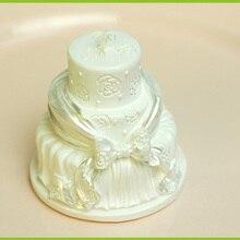 Свадебный торт силиконовая форма для изготовления свечей Свадебные товары для свадьбы свечи ручными инструментами