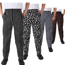 100% Cotton Chili Pepper Chef Pants Canada Men Cupcake Print Executive Best Chef Trousers Ladies Chefwear Uniforms Free Shipping