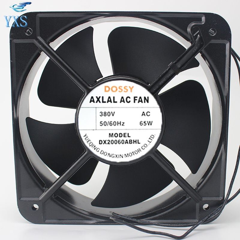 DS20060ABHL AC 380V 65W 50/60HZ 2 Wires 20060 20cm 200*200*60mm Axial Cooling Fan