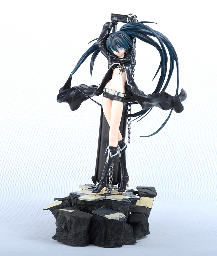 29cm Japan anime Black Rock Shooter figure model doll pvc action figures  brinquedos Collection Figures toys for christmas gift 29cm daiki sexy anime action figure pvc brinquedos collection toys for christmas gift gc0104
