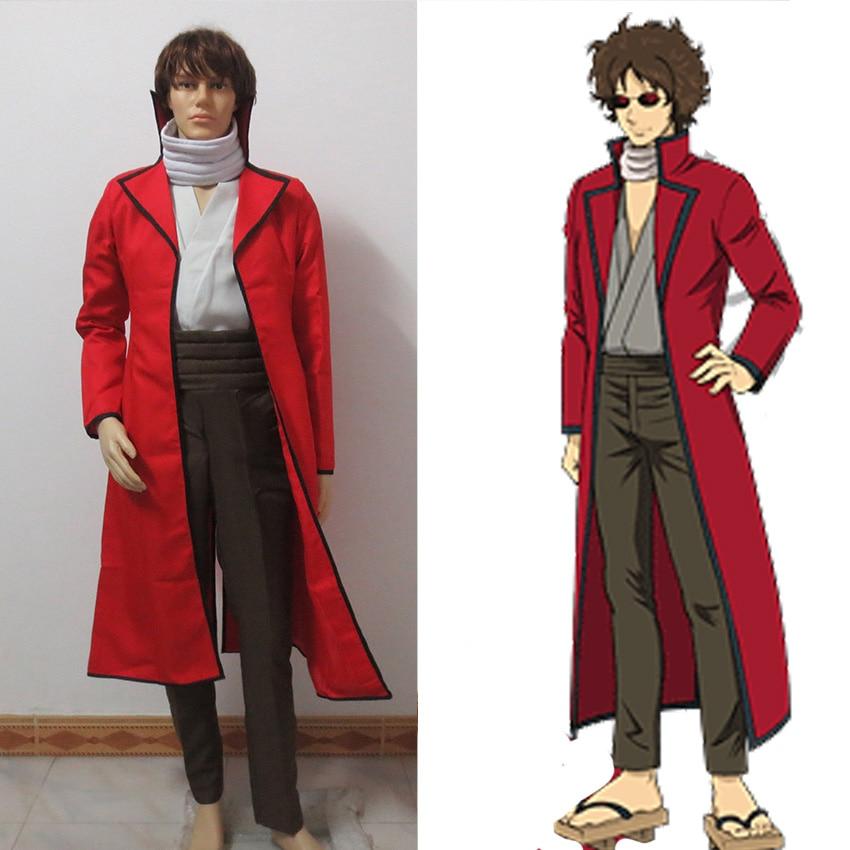 Gintama Silver Soul Sakamoto Tatsuma cosplay costume