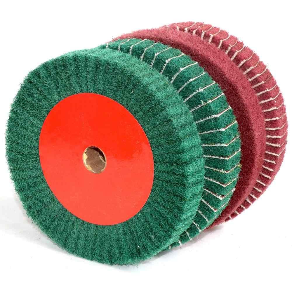 DiaxAperture 200x25MM Scouring Pad Grinding Wheel Polishing Wheel Scouring Pad Grinding Wheel -Green
