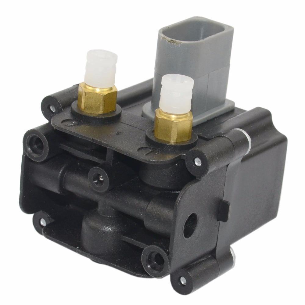 AP03 de suspensión de aire válvula de solenoide de bloque para BMW F01 F02 F07 F11 740i 750i 760Li 37206789450, 37206864215, 37236769082, 37206868998