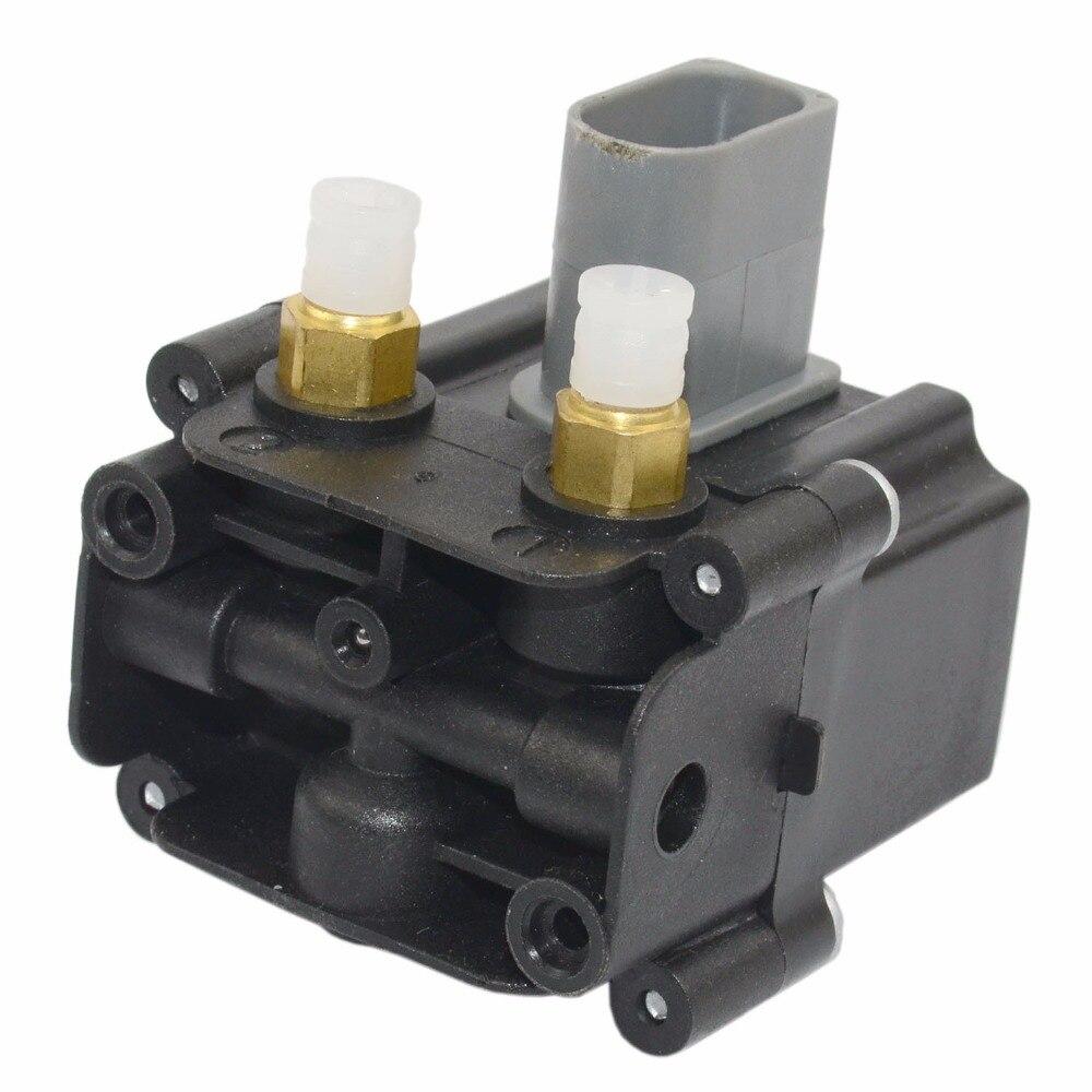AP03 elektromagnetyczny zawieszenia pneumatycznego blokada zaworu dla BMW F01 F02 F07 F11 740i 750i 760Li 37206789450 37206864215 37236769082 37206868998