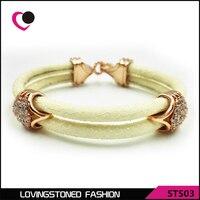 Hot Sell Stainless Steel 2 Roll Stingray Bracelet STL04