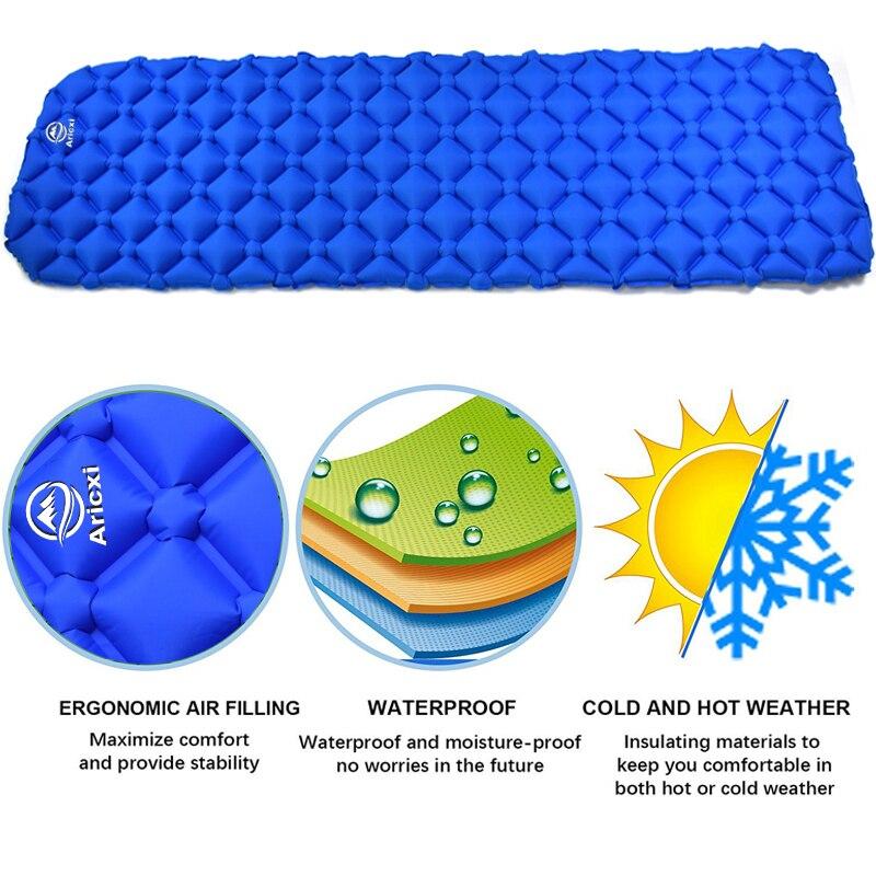 Apenas 450g ao ar livre inflável almofada