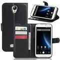 PU Кожаный Бумажник Кошелек Flip Book Чехол для Doogee X6/X6 Pro Стенд Телефон Случае