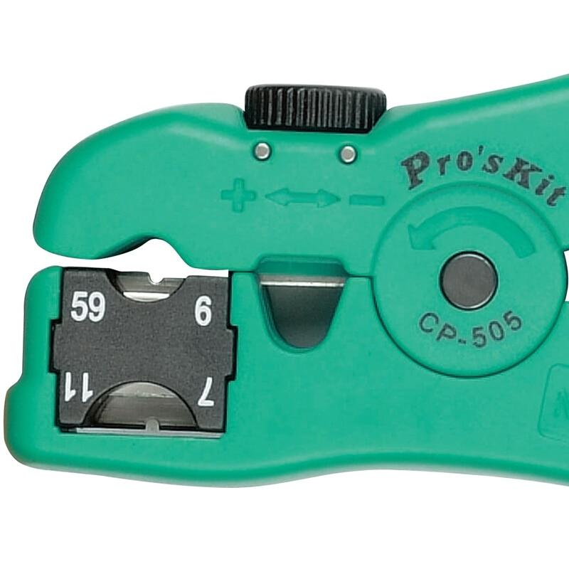 Proskit CP-505 Wielofunkcyjny striptizer do zdejmowania kabli / linii - Narzędzia ręczne - Zdjęcie 5
