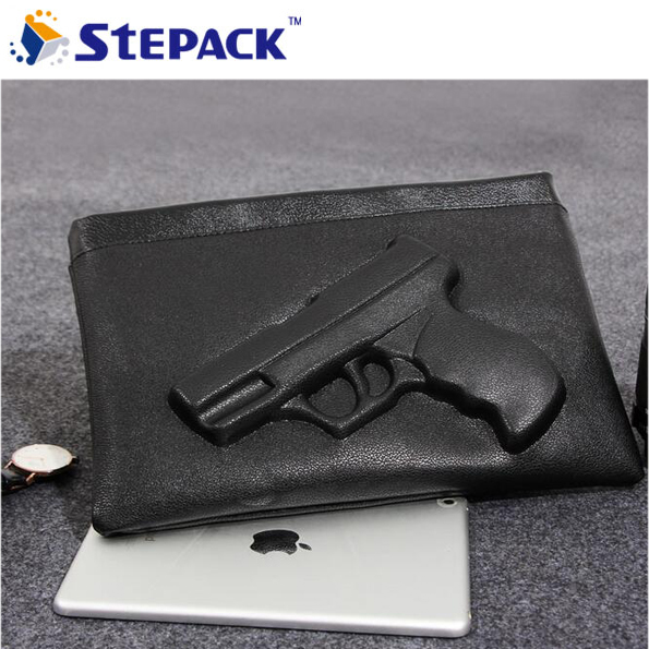 2017 New Style Pistol Texture Modelling Package Popular in Europe and Female Shoulder Bag Envelope Aslant Handbag
