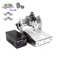 Cheapest CNC Router Wood Mini 2520T 200W Spindle CNC Engraving Machine