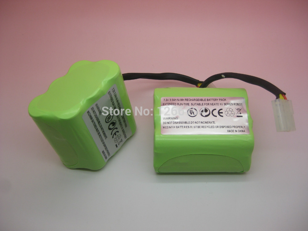 ФОТО 7.2V 4.0Ah Ni-MH Rehargeable battery for Neato XV-11,XV-12,XV-14,XV-15,XV-21 XV Signature Pro series vacuum cleaner Robotics!