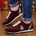 2017 new mens Casual Shoes canvas shoes for men Lace-up Breathable fashion summer autumn Flats pu Leather fashion suede shoes