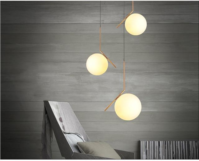 Modern Led Metal Pendant Lights