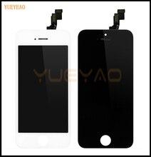 Yueyao качество AAA для iPhone 5 г 5S 5C ЖК-дисплей Дисплей Сенсорный экран Запасные части планшета сборки