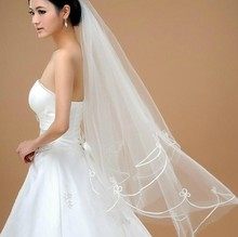 Limited Sales Ivory White Bride Tulle Lace Fabric Veil Supplies Wedding Dress Styling Cathedral Happy Moment