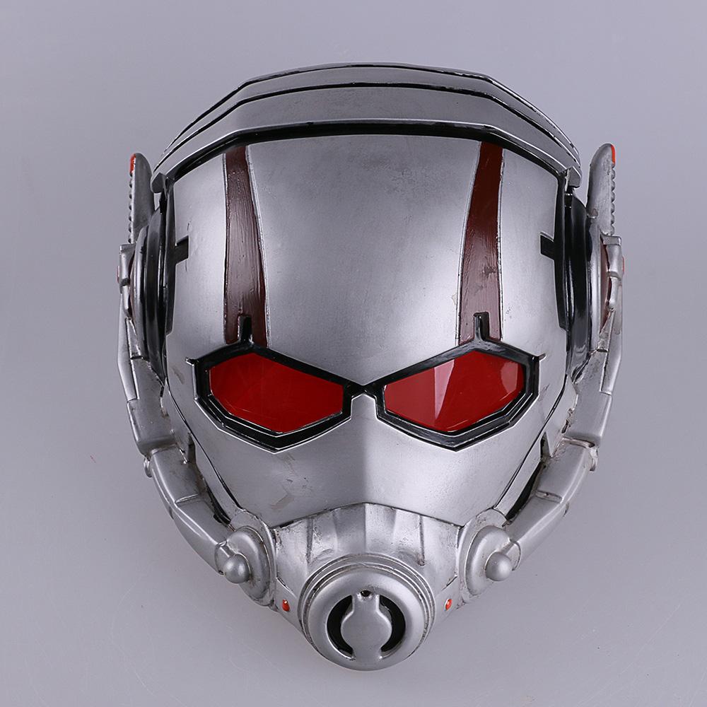 Ant Man Maschera Antman Costume Resina Ant-man Helmet Cosplay Maschera di Halloween Mascaras Maschere Batman Iron Man Helmet (4)